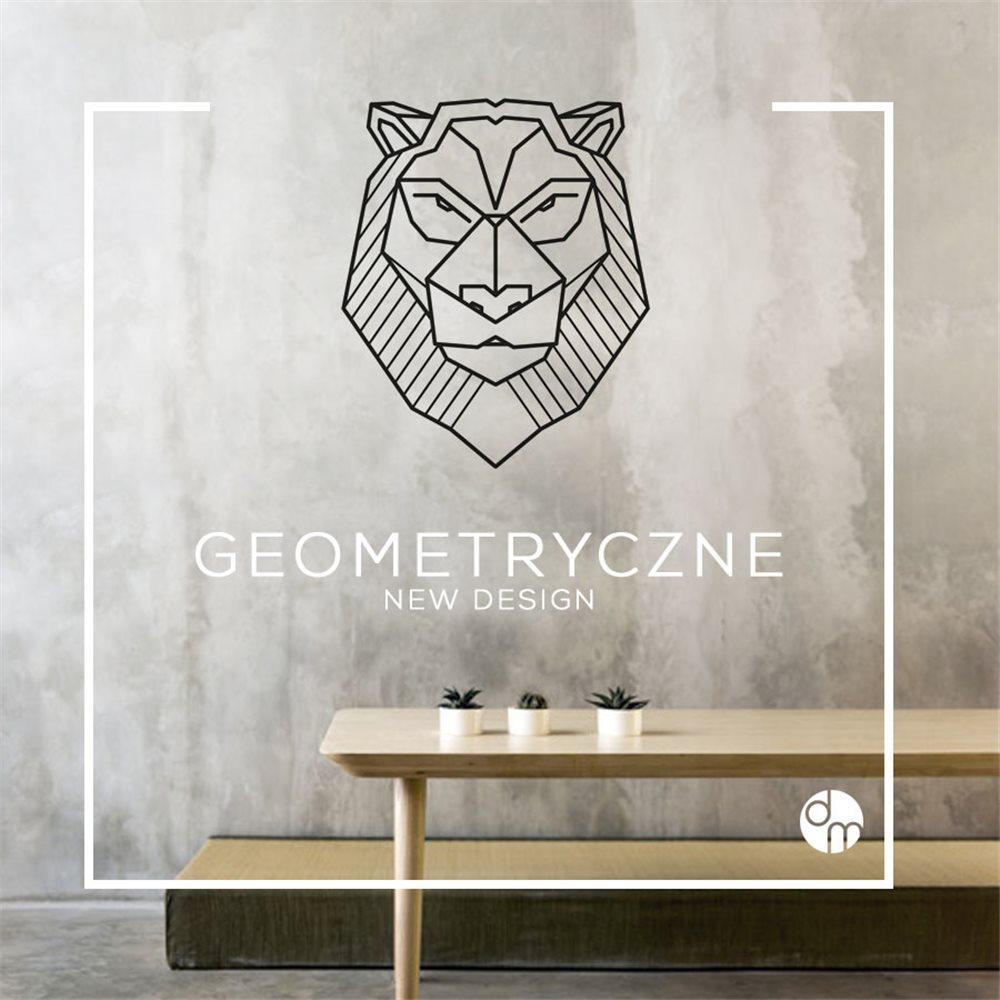 Naklejka dekoracyjna GX05, sowa, geometryczne