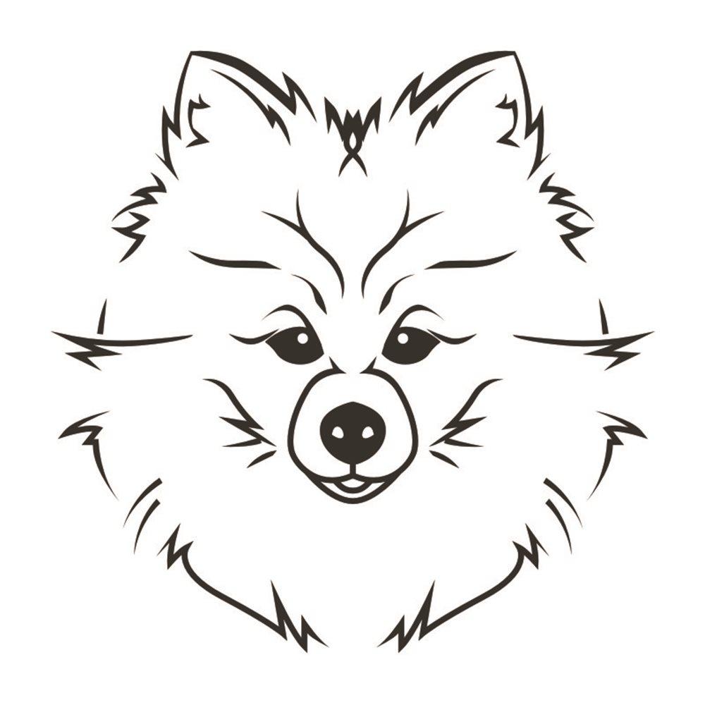 Naklejka dekoracyjna Piesek, Pies, exa155