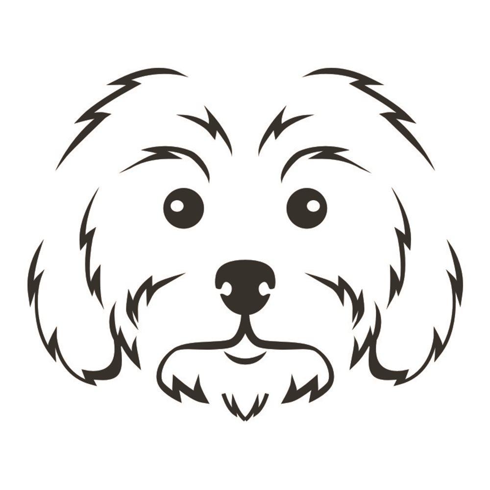 Naklejka dekoracyjna Pies, Piesek,  exa157