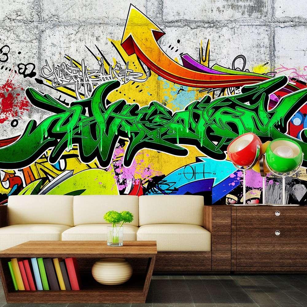 Fototapeta  Miejskie graffiti