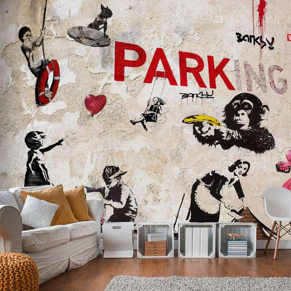 Fototapeta  Kolaż graffiti (Banksy)