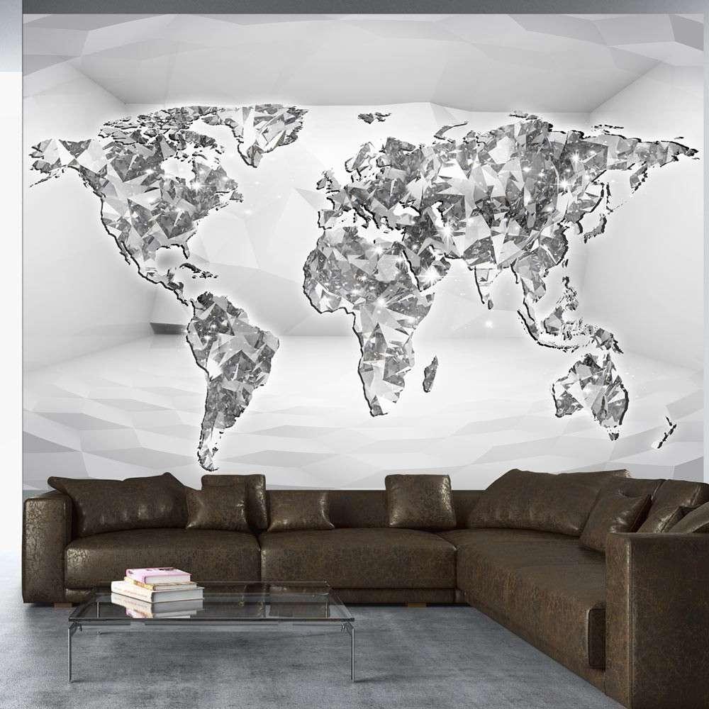Fototapeta  Diamentowa mapa