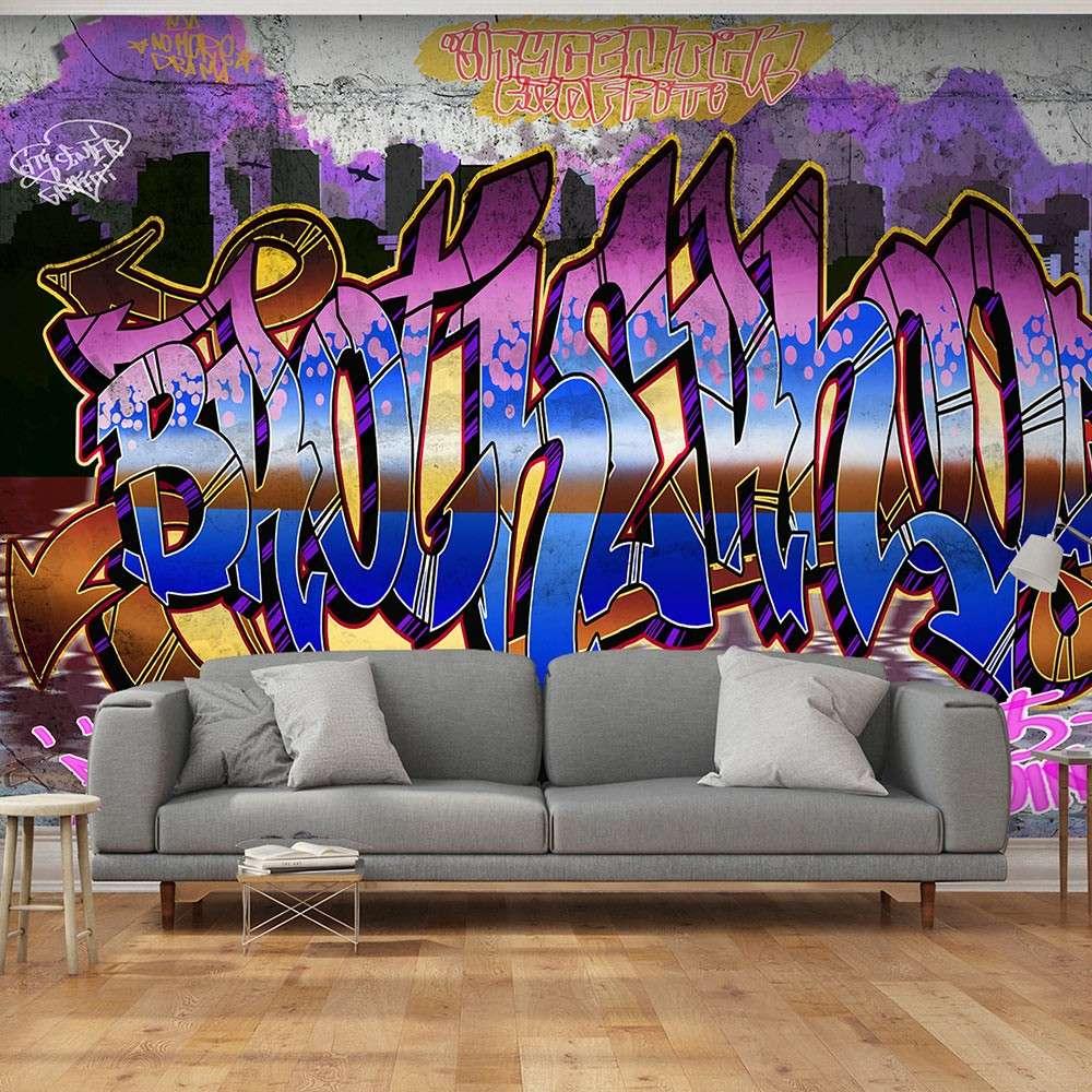 Fototapeta  Kolorowy mural