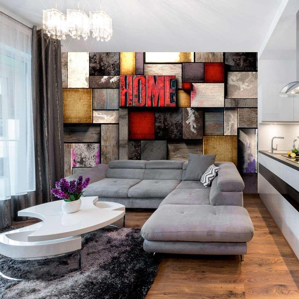 Fototapeta  Kolorowy dom