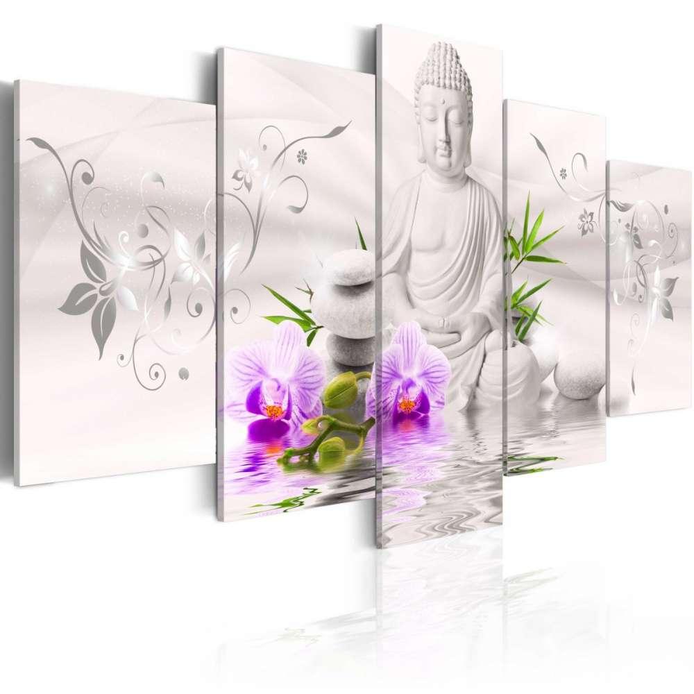 Obraz  Biały Budda
