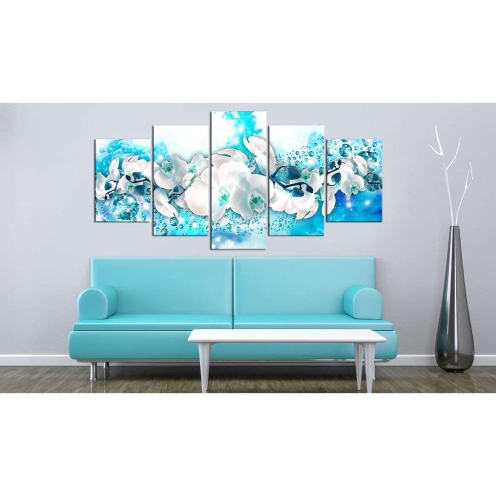 Obraz  Błękitna orchidea