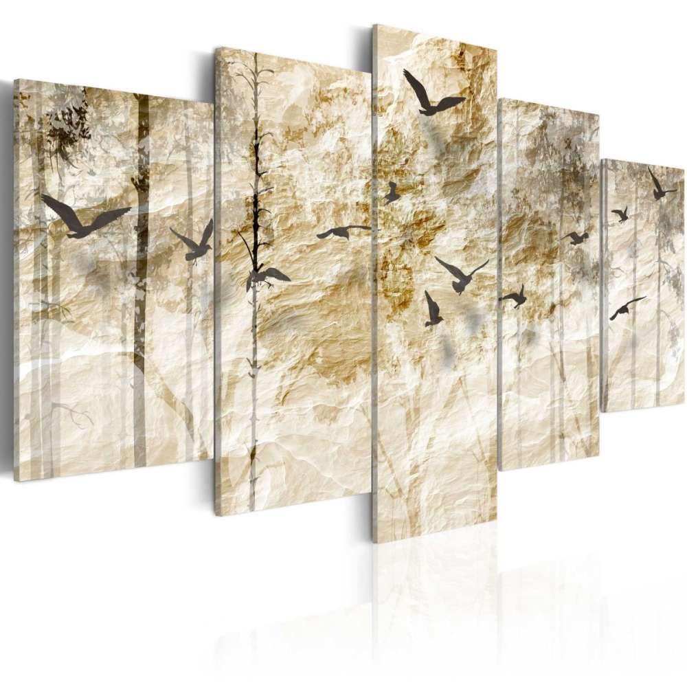 Obraz  Papierowy las
