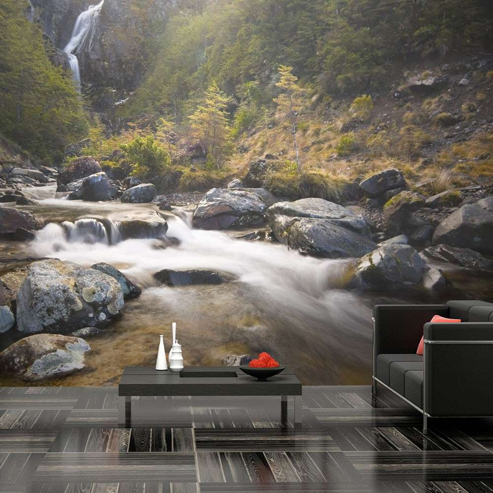 Fototapeta  Ohakune  Waterfalls in New Zealand