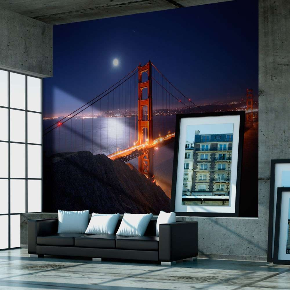 Fototapeta  Most Golden Gate nocą