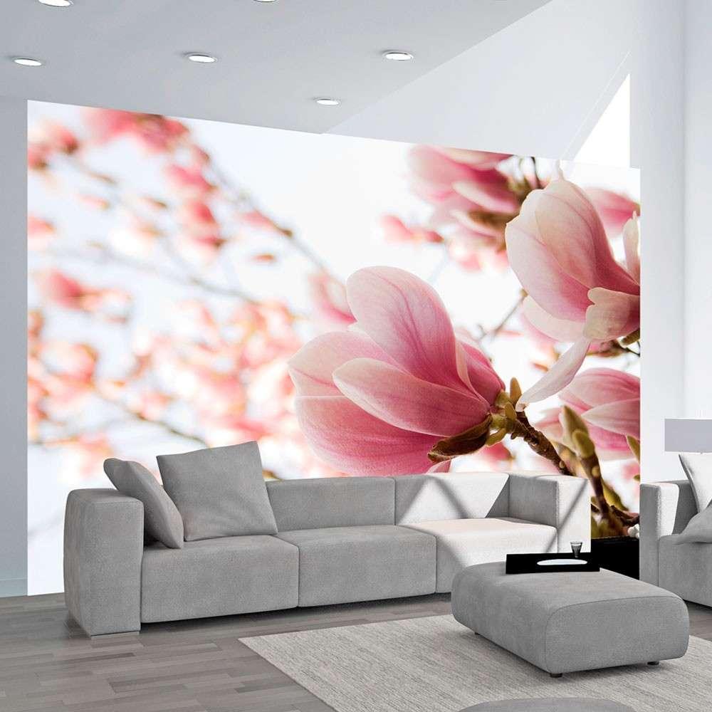 Fototapeta  Różowa magnolia
