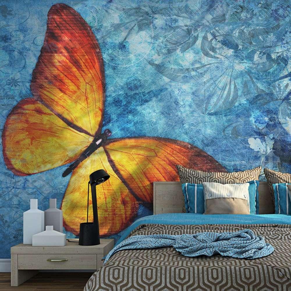 Fototapeta  Fiery butterfly