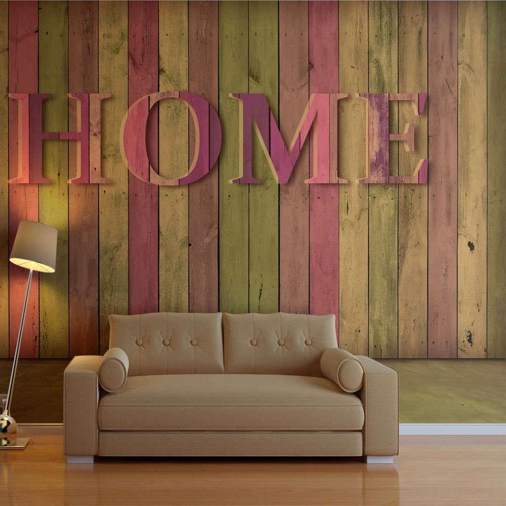 Fototapeta  dom (różowy)