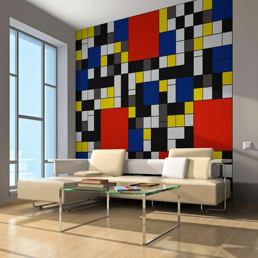 Fototapeta  Piet Mondrian  inspiracja