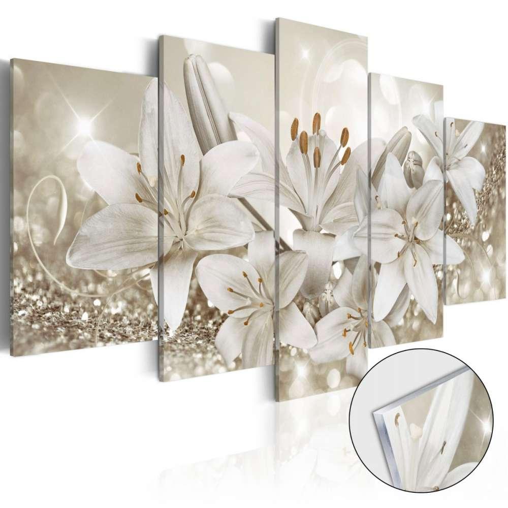 Obraz na szkle akrylowym  Królowa zimy [Glass]