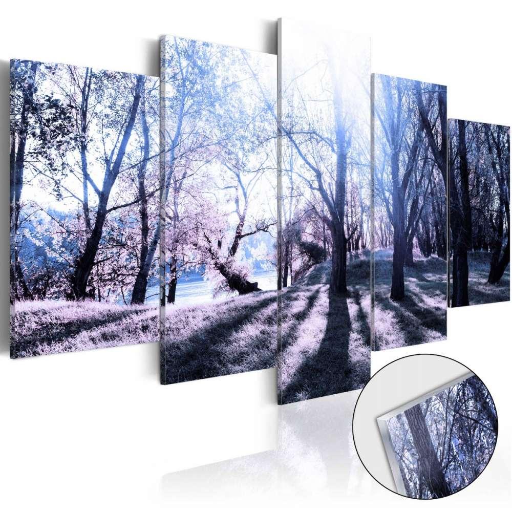Obraz na szkle akrylowym  Jesienna polanka [Glass]