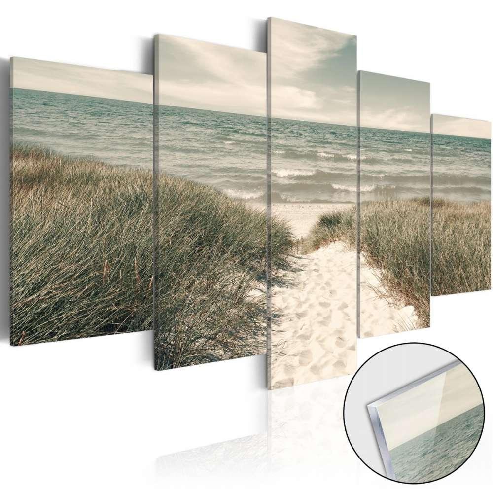 Obraz na szkle akrylowym  Cicha plaża [Glass]