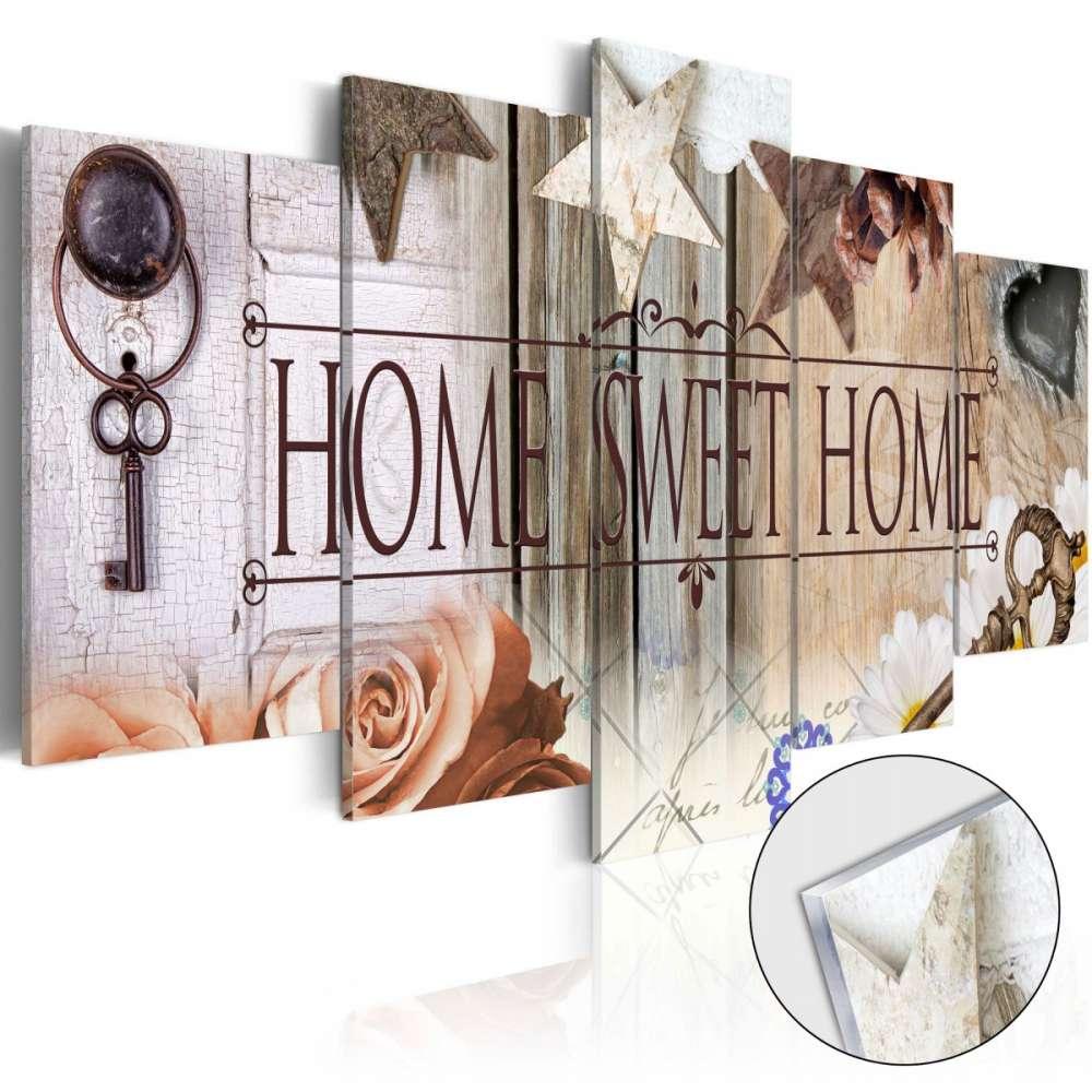 Obraz na szkle akrylowym  Klucz do właściwych drzwi [Glass]