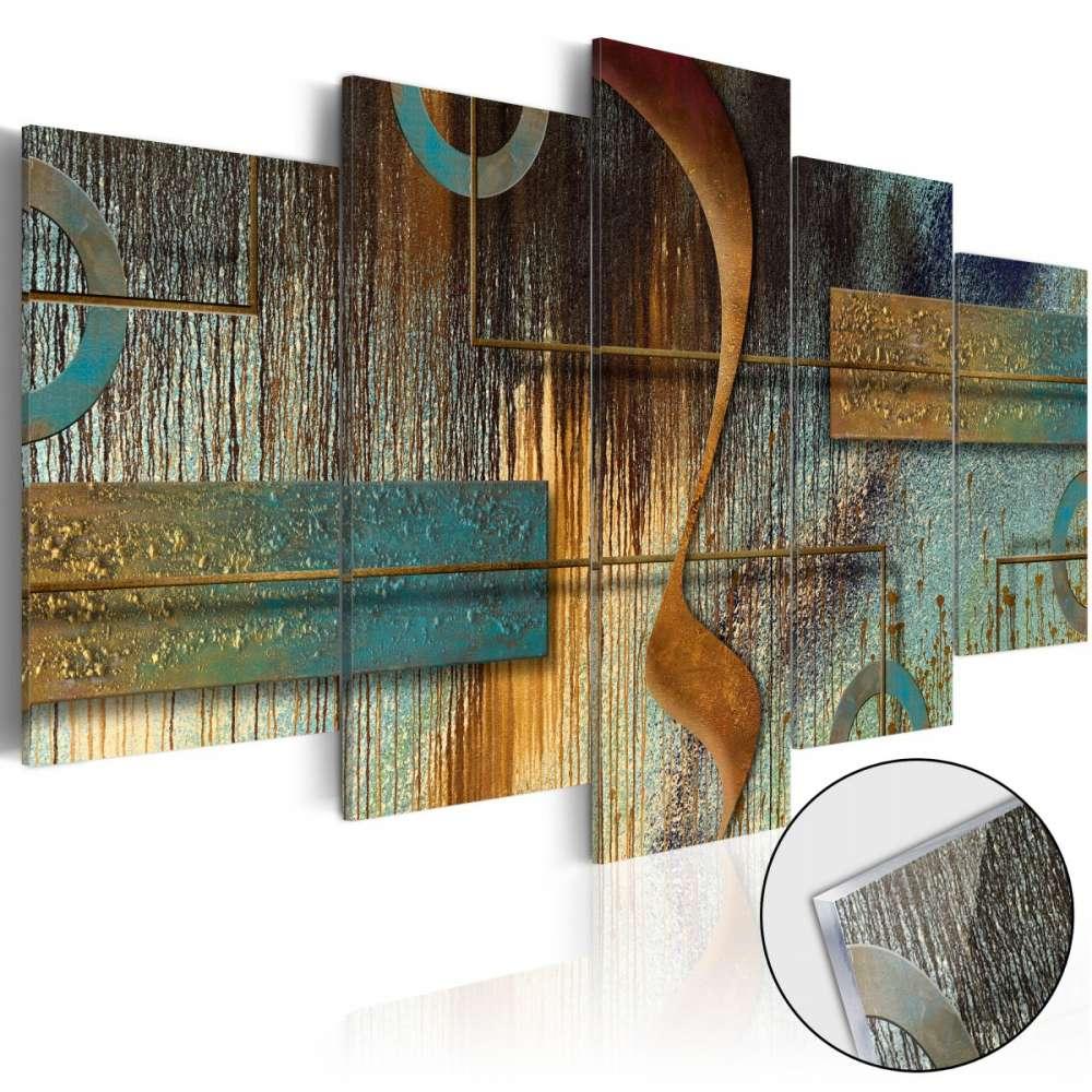 Obraz na szkle akrylowym  Egzotyczna nuta [Glass]