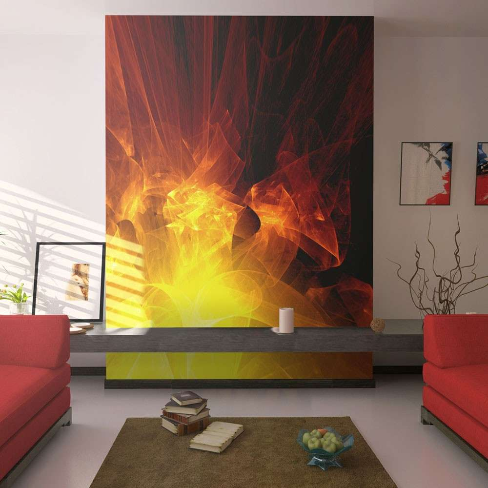 Fototapeta  abstrakcja  ogień