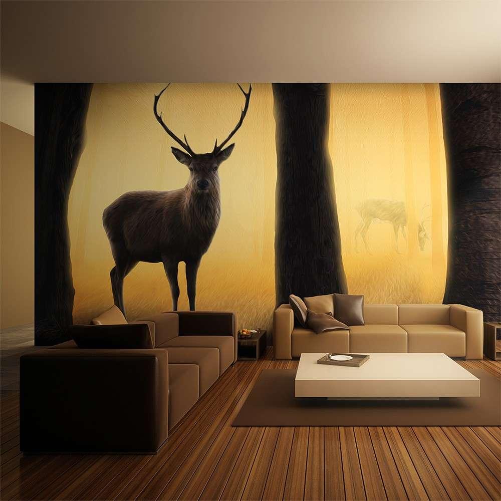 Fototapeta XXL  Deer in his natural habitat