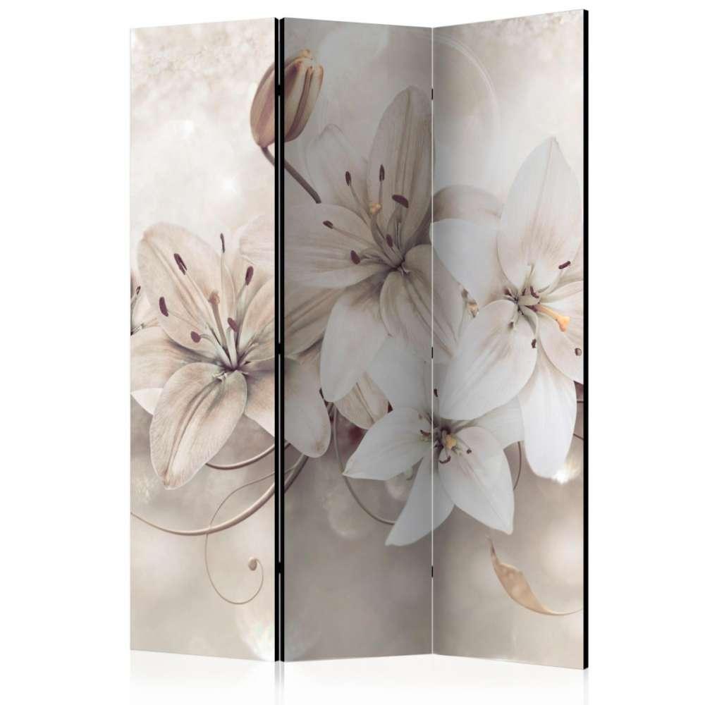 Parawan 3częściowy  Diamentowe lilie [Room Dividers]