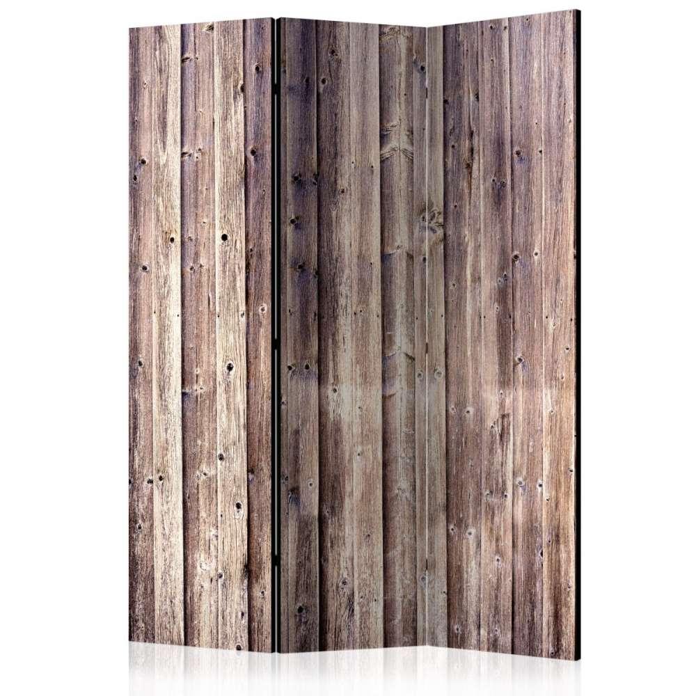 Parawan 3częściowy  Drewniany urok [Room Dividers]