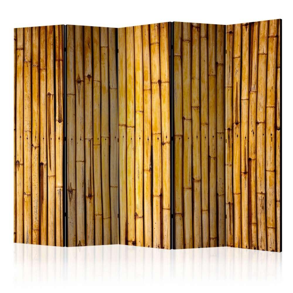 Parawan 5częściowy  Bambusowy ogród II [Room Dividers]
