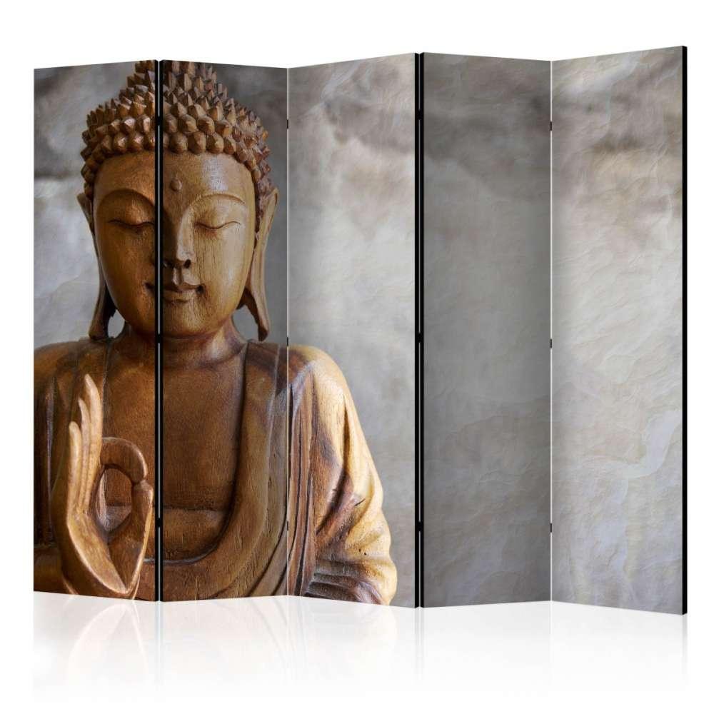 Parawan 5częściowy  Budda II [Room Dividers]