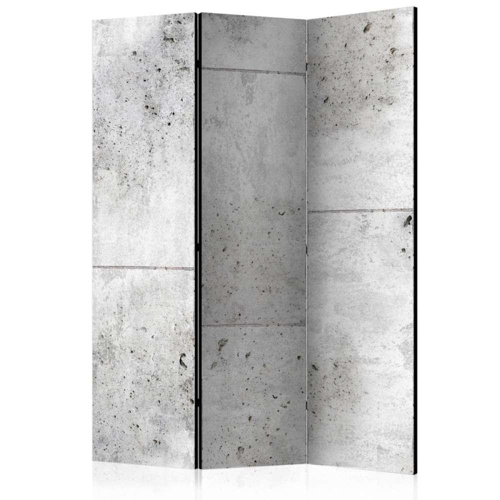 Parawan 3częściowy  Concretum murum [Room Dividers]