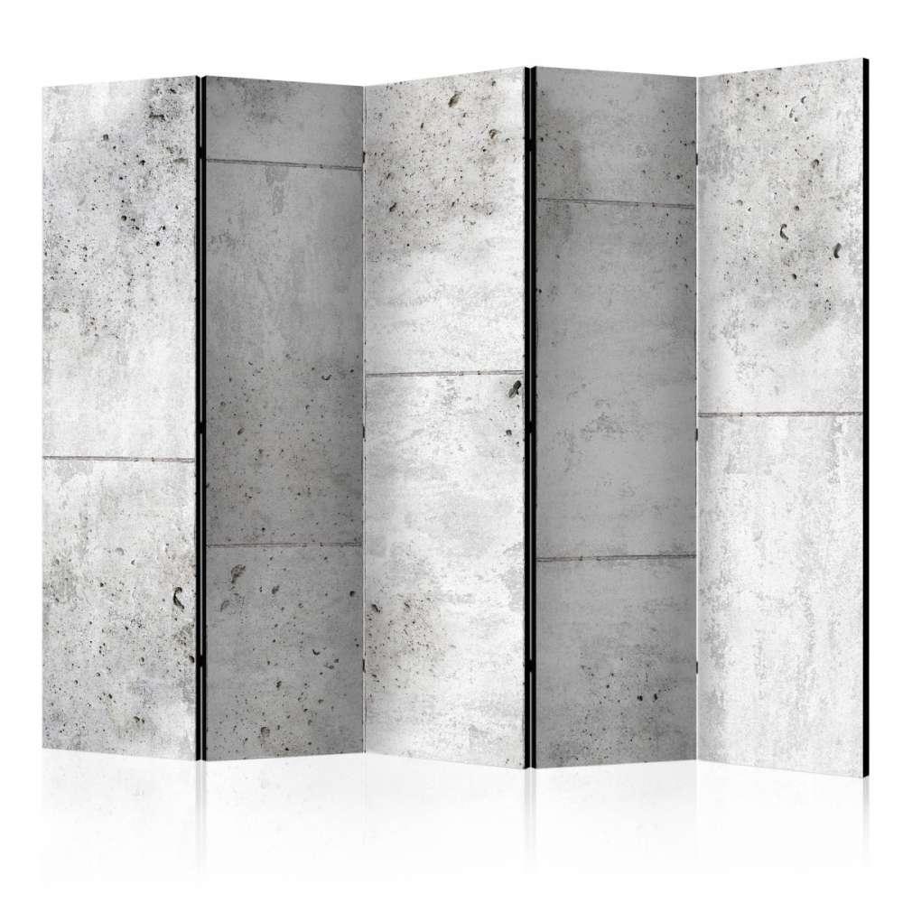 Parawan 5częściowy  Concretum murum II [Room Dividers]