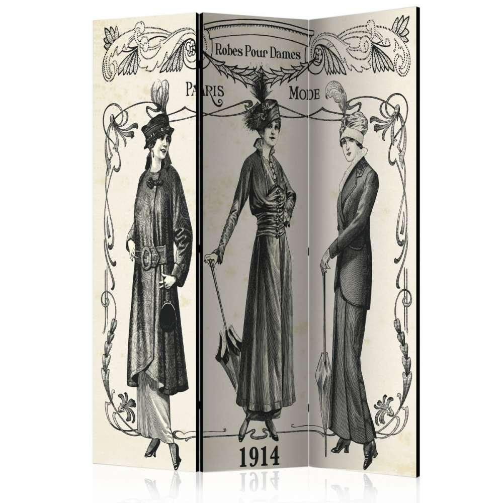 Parawan 3częściowy  Dress 1914 [Room Dividers]