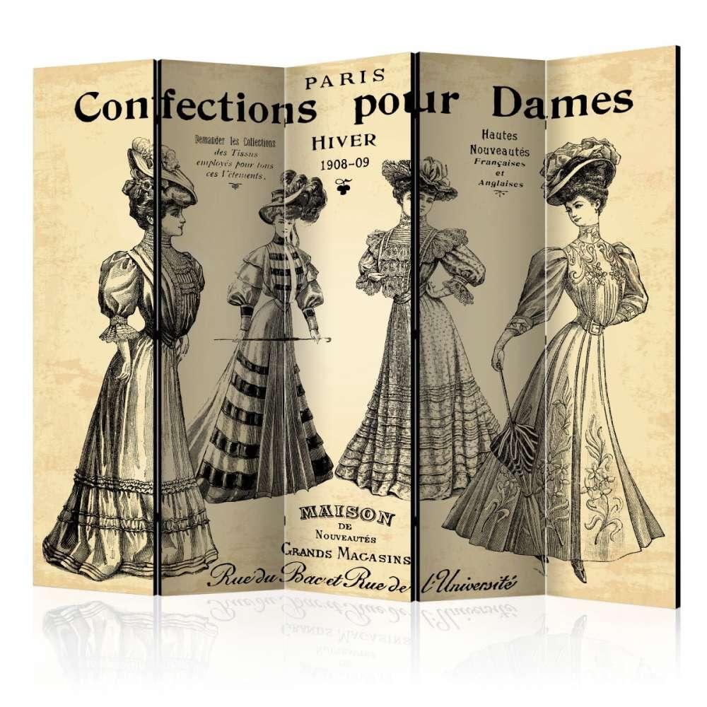 Parawan 5częściowy  Confections pour Dames II [Room Dividers]
