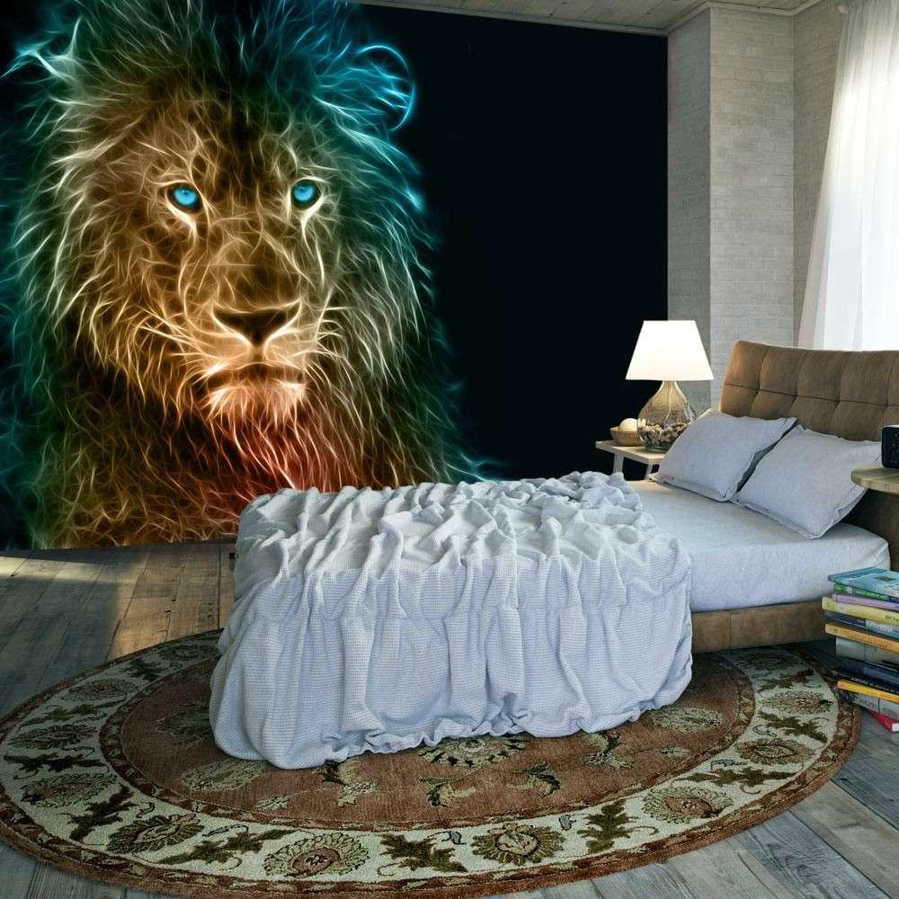 Fototapeta  Abstrakcyjny lew