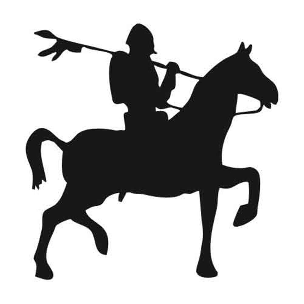 Szablon malarski PX 200 rycerz na koniu postać, PX200