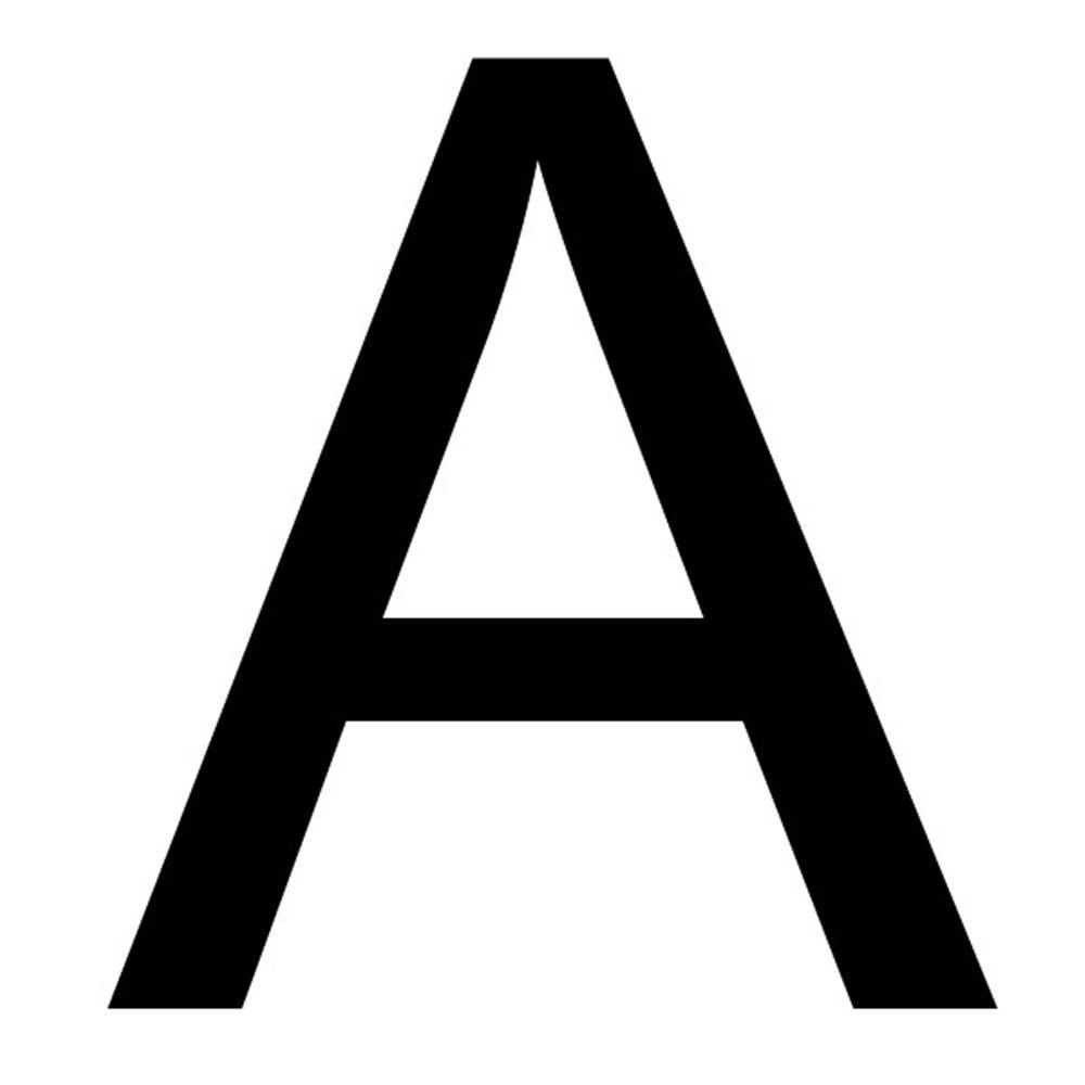 Szablon malarski litera A , czcionka Arial
