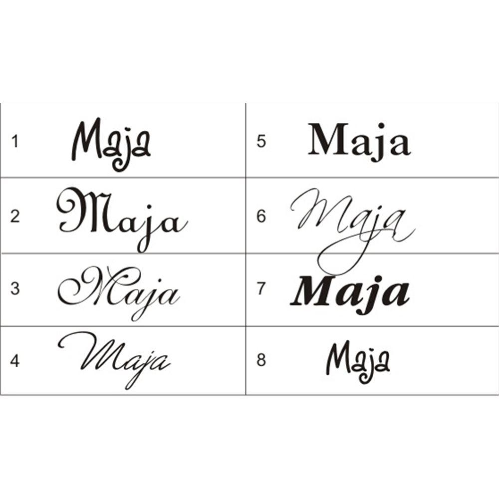 Naklejka dekoracyjna Imiona, imię: Maja, naklejki dla dzieci