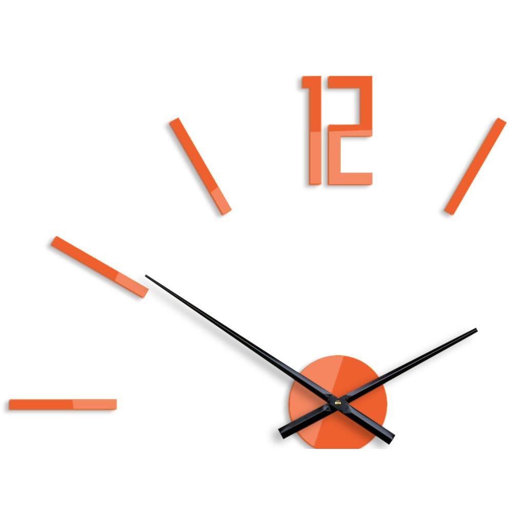 Zegar ścienny Carlo Orange