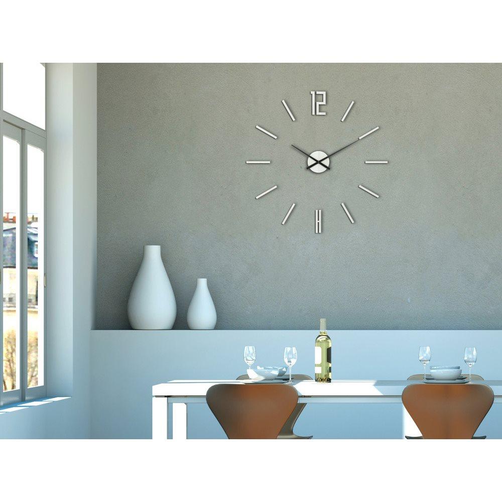 Zegar ścienny Carlo White