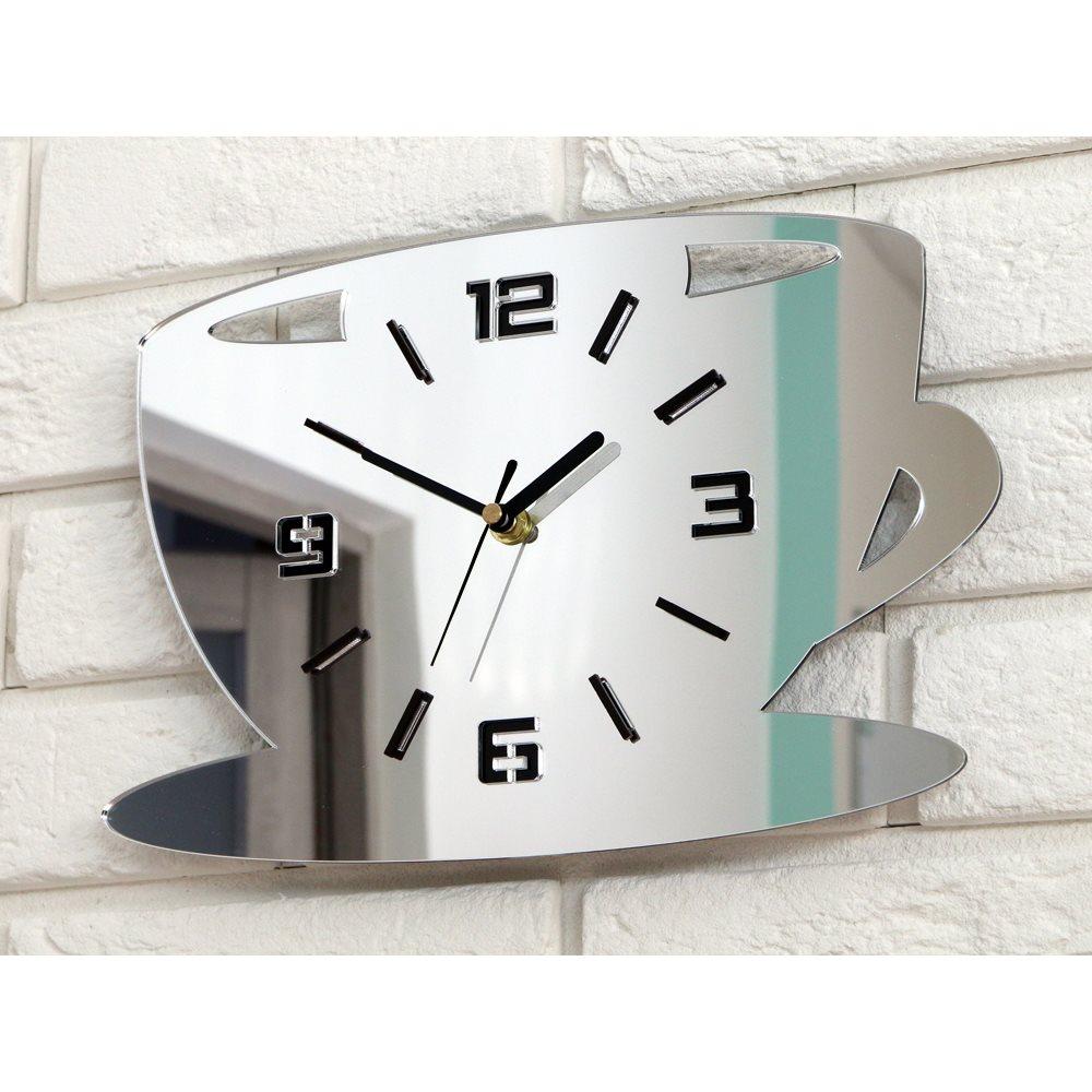 Zegar ścienny Coffe Time 3D Mirror
