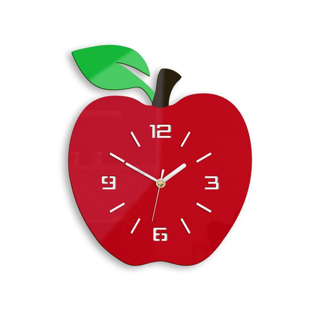 Zegar ścienny Czerowne jabłko