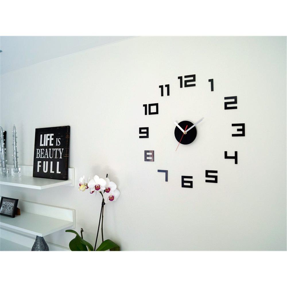 Zegar ścienny DIGIT black