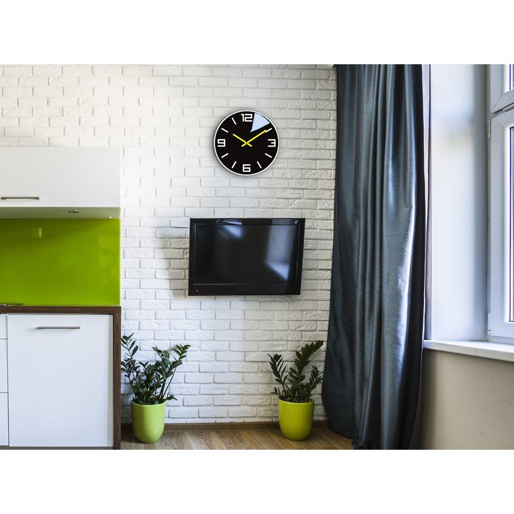 Zegar ścienny DIXON Black&White