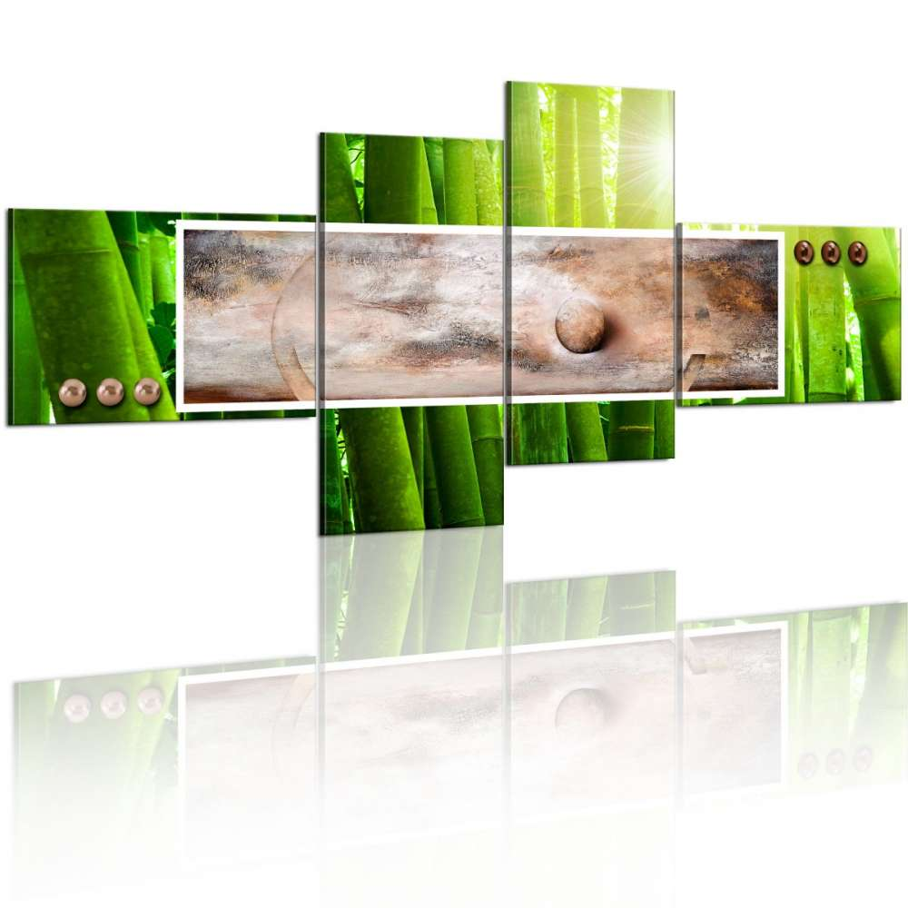 Obraz  Abstrakcja w bambusie