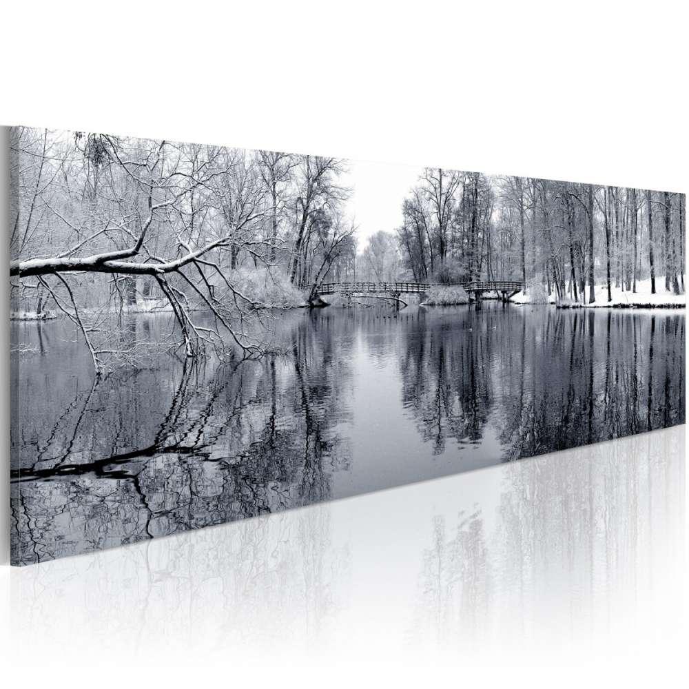Obraz  pejzaż zima