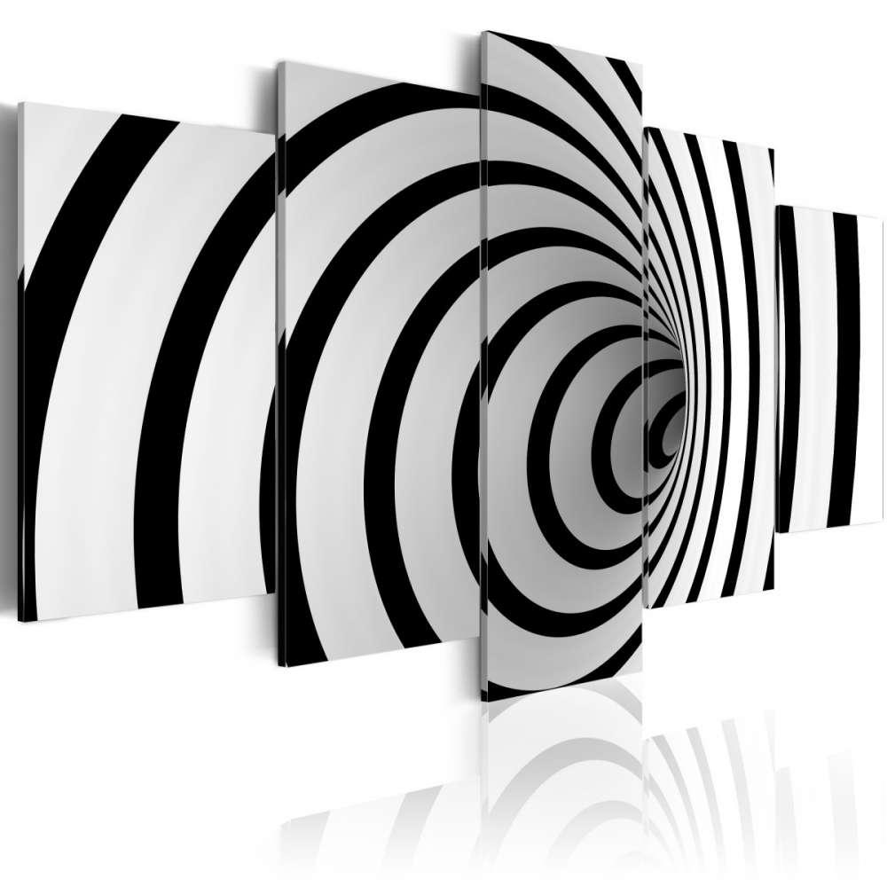 Obraz  Czarnobiała dziura
