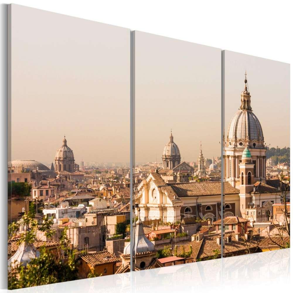 Obraz  Ponad dachami Wiecznego Miasta