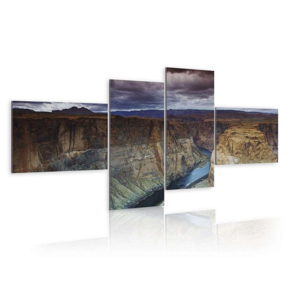 Obraz  Marmurowy kanion