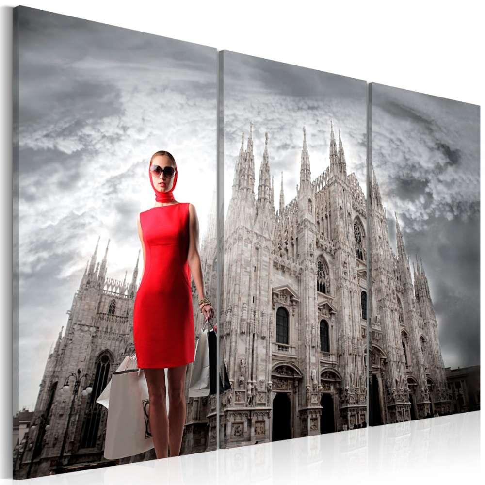 Obraz  Mediolan  stolica mody