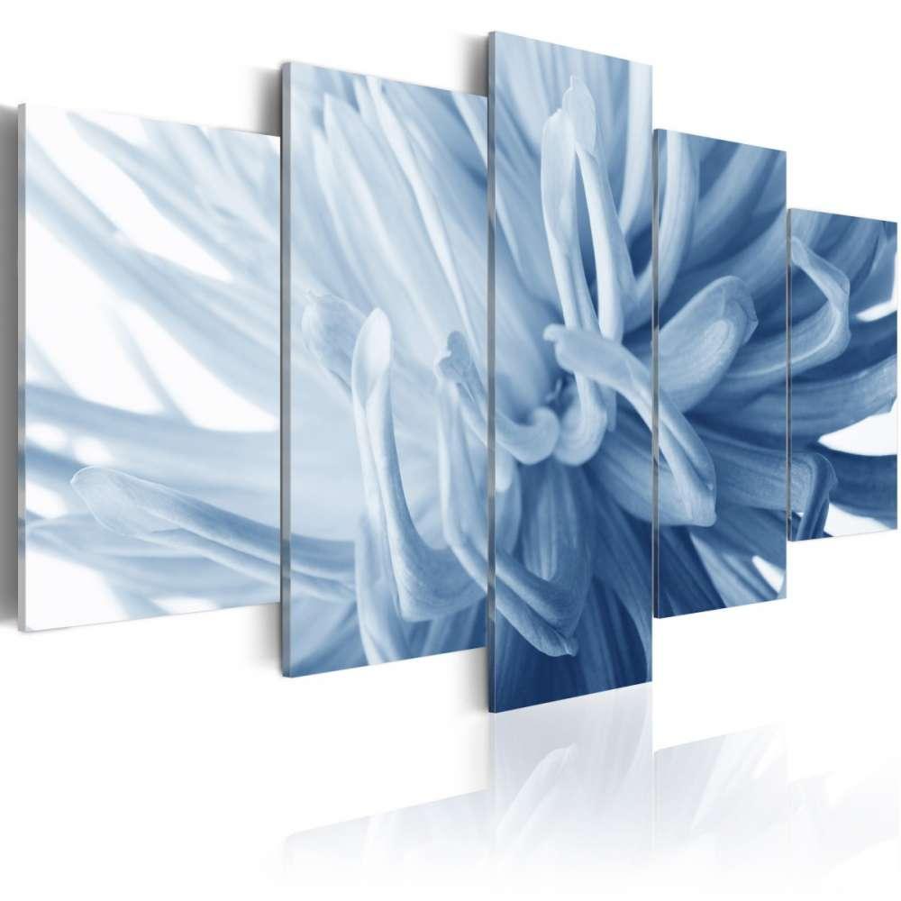 Obraz  Niebieski kwiat dalii