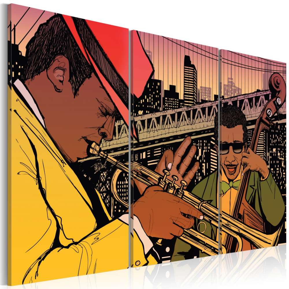 Obraz  Stolica jazzu  Nowy Jork